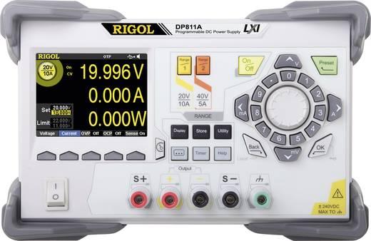 Labornetzgerät, einstellbar Rigol DP811A 0 - 40 V 0 - 10 A 200 W Anzahl Ausgänge 1 x Kalibriert nach ISO