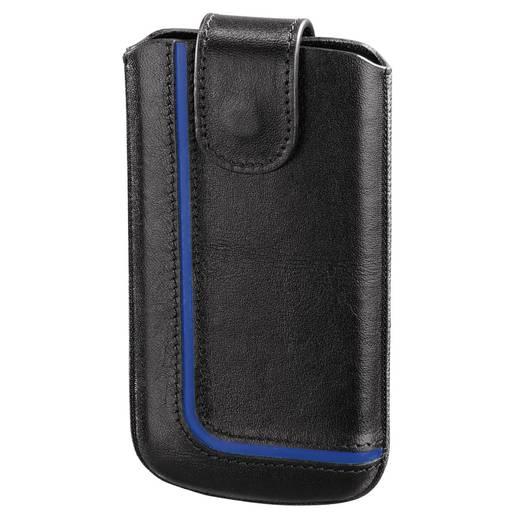 Hama Neon Black taille M Sleeve , Innenmaß (B x H x T): 64 x 123 x 10 mm Universal Schwarz, Blau
