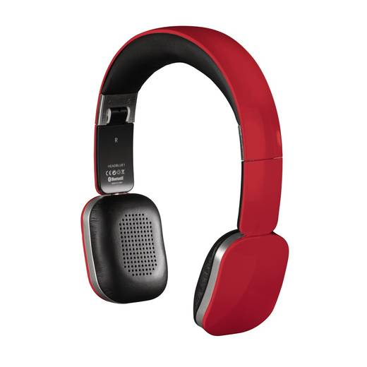 Bluetooth® Kopfhörer Hama Speed On Ear Faltbar, Headset, Touch-Steuerung Rot