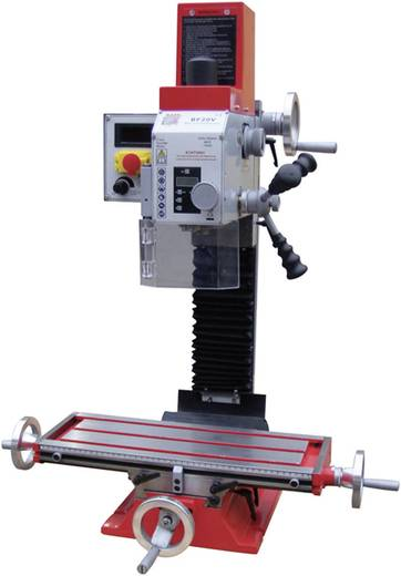 Holzmann Maschinen BF 20V Fräsmaschine 2-Stufenmotor S1 (100%)/S6: 700 W/1000 W 230 V/50 Hz H020200003