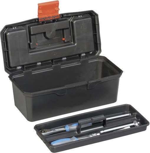 Werkzeugkasten unbestückt Alutec 56250 Kunststoff Schwarz