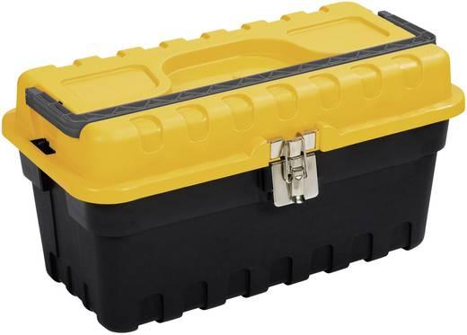 Werkzeugkasten unbestückt Alutec 56500 Kunststoff Schwarz, Gelb
