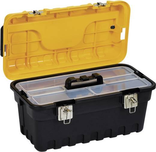 Werkzeugkasten unbestückt Alutec 56510 Kunststoff Schwarz, Gelb