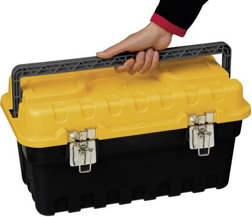 Werkzeugkasten unbestückt Alutec 56520 Kunststoff Schwarz, Gelb