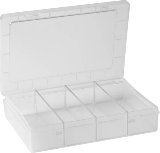 Sortimentskasten (L x B x H) 180 x 140 x 40 mm Alutec Anzahl Fächer: 1 feste Unterteilung