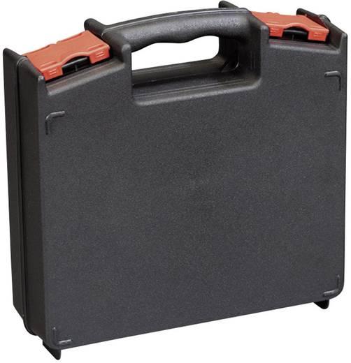 Werkzeugkasten unbestückt Alutec 56630 Kunststoff Schwarz, Rot