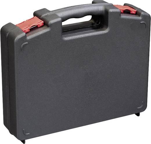 Werkzeugkasten unbestückt Alutec 56635 Kunststoff Schwarz, Rot