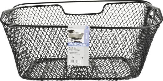 Fahrradkorb proFEX Korb engmaschig für Gepäckträger Schwarz