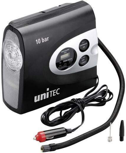 Unitec Kompressor 10945 10 bar mit Arbeitslampe, Kabelfach/-aufnahme, Digitales Display, Automatische Abschaltung