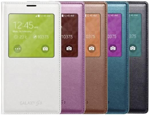 Samsung S View Flip Cover Passend für: Samsung Galaxy S5 Schwarz