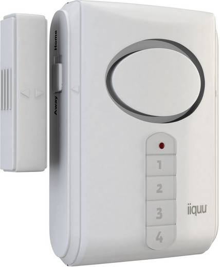 Tür-/Fensteralarm mit Zahlencode 120 dB iiquu Fönster & dörr 510ILSAA003