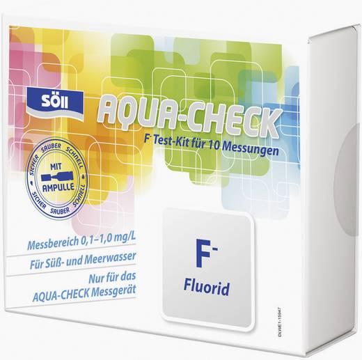 Söll 15943 Fluorid-Test 10 Tests für Photometer AQUA-CHECK 2