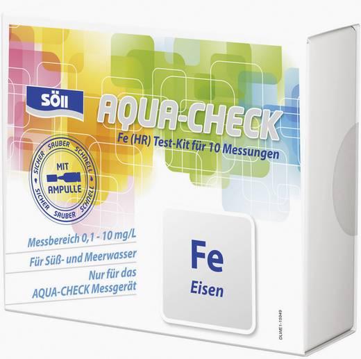 Söll 15633 Eisen-Test 10 Tests für Photometer AQUA-CHECK 2