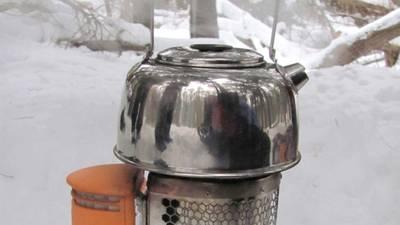 Fornello da campeggio BioLite CampStove BL-CSFL Acciaio inox