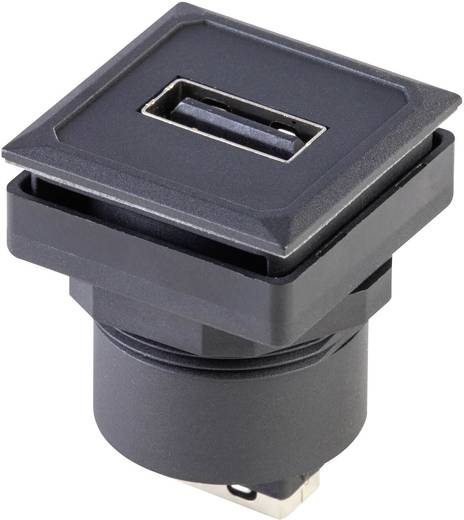USB-Einbaubuchse OKTRON-Juwel Buchse, Einbau vertikal OKJ_USB_AA Schlegel Inhalt: 1 St.