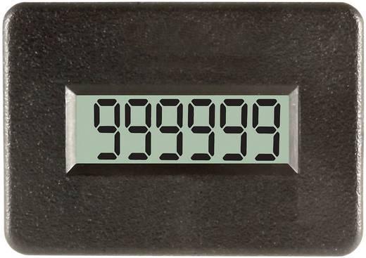 TDE Instruments DPC401-R Impulszähler, 115 - 275 V AC/DC Einbaumaße 38 x 24 mm Temperaturbereich von -40°C bis +80°C Sc