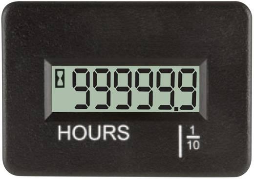 TDE Instruments DPH400-R Betriebsstundenzähler 0.0 - 99999.9 h Temperaturbereich -40°C bis +80°C Schutzklasse IP67