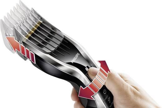 Haarschneider Philips HC7450/80 abwaschbar Silber-Schwarz