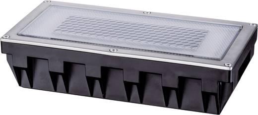 Solar-Einbauleuchte 0.6 W Warm-Weiß Paulmann Box 93775 Silber-Grau