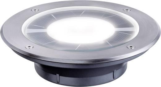 Solar-Einbauleuchte 0.36 W Warm-Weiß Paulmann Pandora 93776 Edelstahl