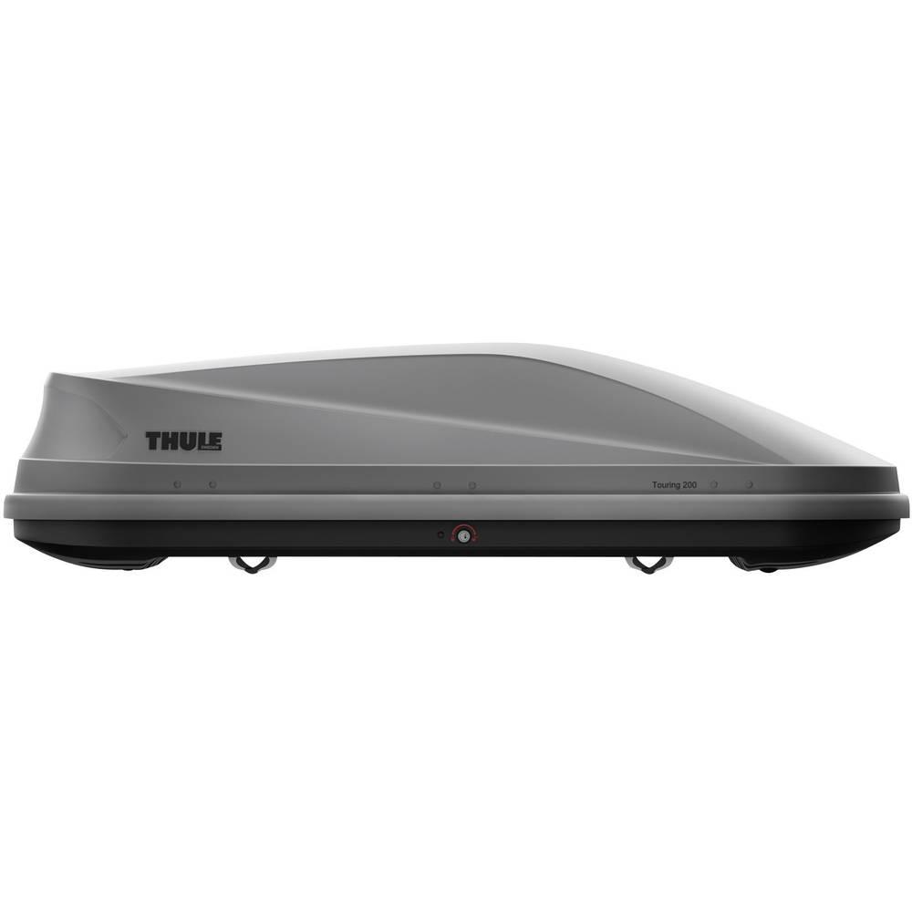 coffre de toit thule touring m 200 titan aero 634200 400 l titane. Black Bedroom Furniture Sets. Home Design Ideas