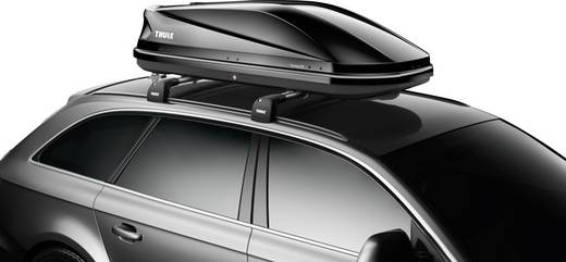 dachbox thule touring m 200 black glossy 400 l schwarz. Black Bedroom Furniture Sets. Home Design Ideas