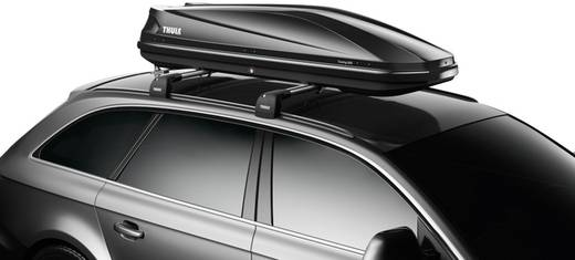 Dachbox Thule Touring Sport 600 black glossy 300 l Schwarz (glänzend)
