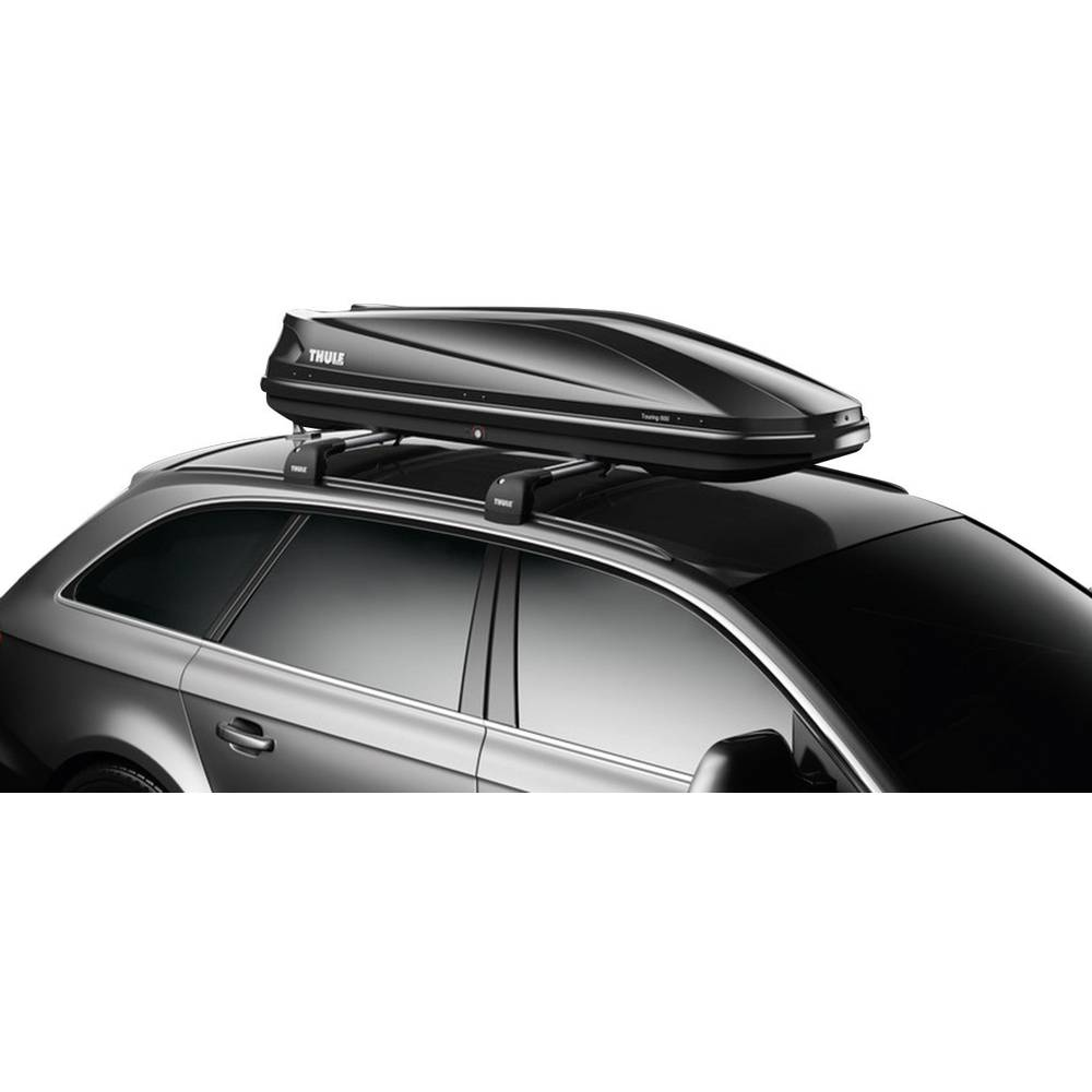 dachbox thule touring sport 600 black glossy 300 l schwarz. Black Bedroom Furniture Sets. Home Design Ideas