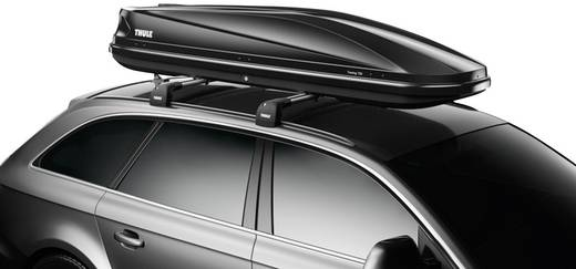 dachbox thule touring alpine 700 black glossy 430 l schwarz gl nzend. Black Bedroom Furniture Sets. Home Design Ideas