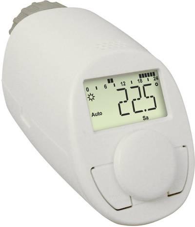 Thermostitc radiator valve electronical 5 up to 29.5 °C eqiva