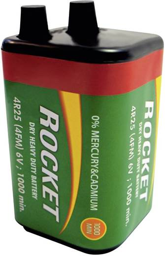 Spezial-Batterie 4R25 Federkontakt Zink-Chlorid Rocket V431 6 V 10000 mAh 1 St.