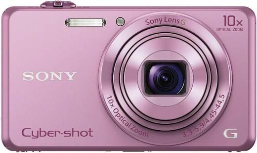 Digitalkamera Sony Cyber-Shot DSC-WX220P 18.2 Mio. Pixel Opt. Zoom: 10 x Pink Full HD Video, WiFi
