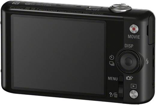 Digitalkamera Sony Cyber-Shot DSC-WX220B 18.2 Mio. Pixel Opt. Zoom: 10 x Schwarz Full HD Video, WiFi