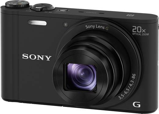 Sony Cyber-Shot DSC-WX350B Digitalkamera 18.2 Mio. Pixel Opt. Zoom: 20 x Schwarz Full HD Video, WiFi