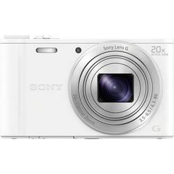 Digitálny fotoaparát Sony Cyber-Shot DSC-WX350W, 18.2 MPix, optický zoom: 20 x, biela