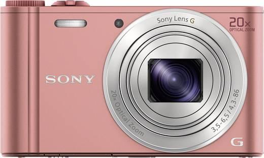 Digitalkamera Sony Cyber-Shot DSC-WX350P 18.2 Mio. Pixel Opt. Zoom: 20 x Pink Full HD Video, WiFi