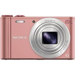 Digitální fotoaparát Sony Cyber-Shot DSC-WX350P, 18.2 MPix, Zoom (optický): 20 x, růžová
