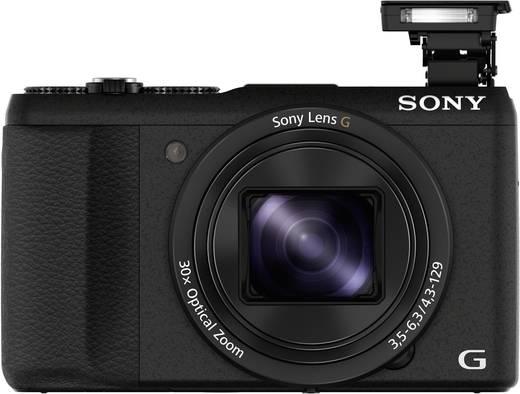 Digitalkamera Sony DSC-HX60B 20.4 Mio. Pixel Opt. Zoom: 30 x Schwarz Full HD Video, WiFi, Blitzschuh