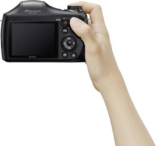 Sony DSC-H300 Digitalkamera 20.1 Mio. Pixel Opt. Zoom: 35 x Schwarz