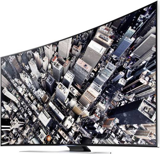 Samsung UE65HU8590 LED-TV 163 cm 65 Zoll EEK B DVB-T, DVB-C, DVB-S, UHD, Curved, 3D, Smart TV, WLAN, Skype, PVR ready, C