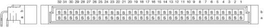 Messerleiste 384241 Gesamtpolzahl 64 Anzahl Reihen 2 ERNI 1 St.