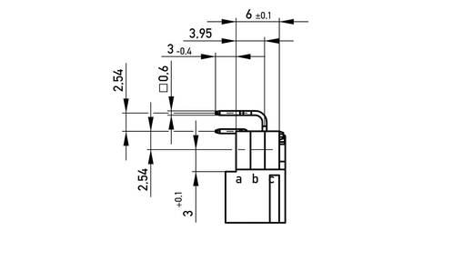 Messerleiste 384275 Gesamtpolzahl 20 Anzahl Reihen 2 ERNI 1 St.