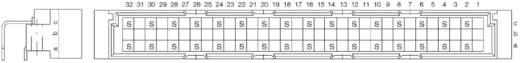 Messerleiste 374545 Gesamtpolzahl 32 Anzahl Reihen 3 ERNI 1 St.