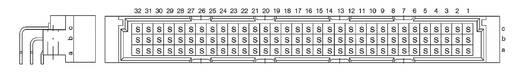 Messerleiste 374980 Gesamtpolzahl 96 Anzahl Reihen 3 ERNI 1 St.