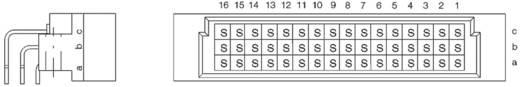 Messerleiste 254324 Gesamtpolzahl 48 Anzahl Reihen 3 ERNI 1 St.