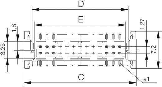 SMC-Messerleiste 244854 Gesamtpolzahl 12 Anzahl Reihen 2 ERNI 1 St.