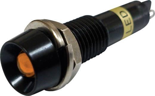 LED-Signalleuchte Orange 12 V/DC Sedeco BD-0701B