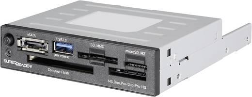 Einbau-Speicherkartenleser 8.9 cm (3.5 Zoll) Renkforce CR02i Schwarz
