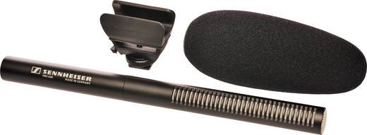 Kamera-Mikrofon Sennheiser MKE 600 Übertragungsart:Kabelgebunden inkl. Windschutz, Blitzschuh-Montage
