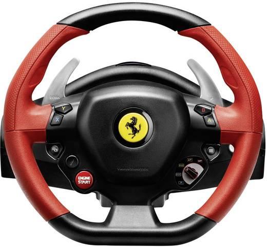 Lenkrad mit Pedalen Thrustmaster Ferrari 458 Spider Xbox One Schwarz